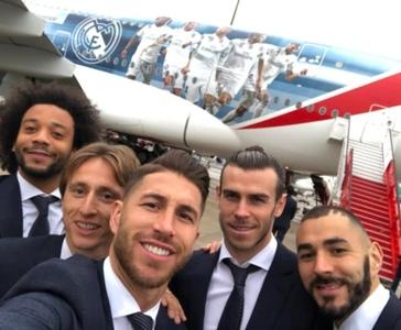► Real Madrid chega aos Emirados Árabes Unidos para defender o título do Mundial de Clubes