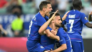 Giroud Chelsea Arsenal Europa League