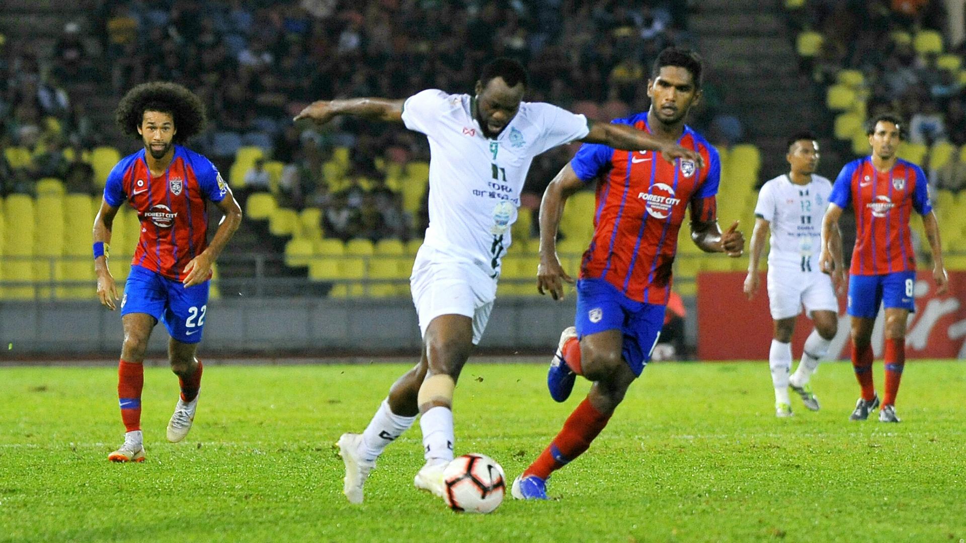 Davy Angan, Melaka v Johor Darul Ta'zim, Malaysia Super League, 25 June 2019