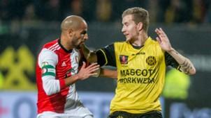 Karim El Ahmadi, Simon Gustafson, Roda JC - Feyenoord, 28102017
