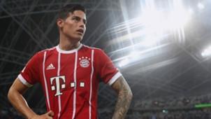 James Rodriguez Munich Chelsea ICC 072517