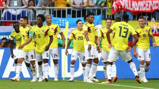 festejo Yerry Colombia Senegal WC Russia 28062018