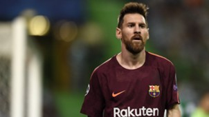Lionel Messi Sporting CP Barcelona UCL 27092017