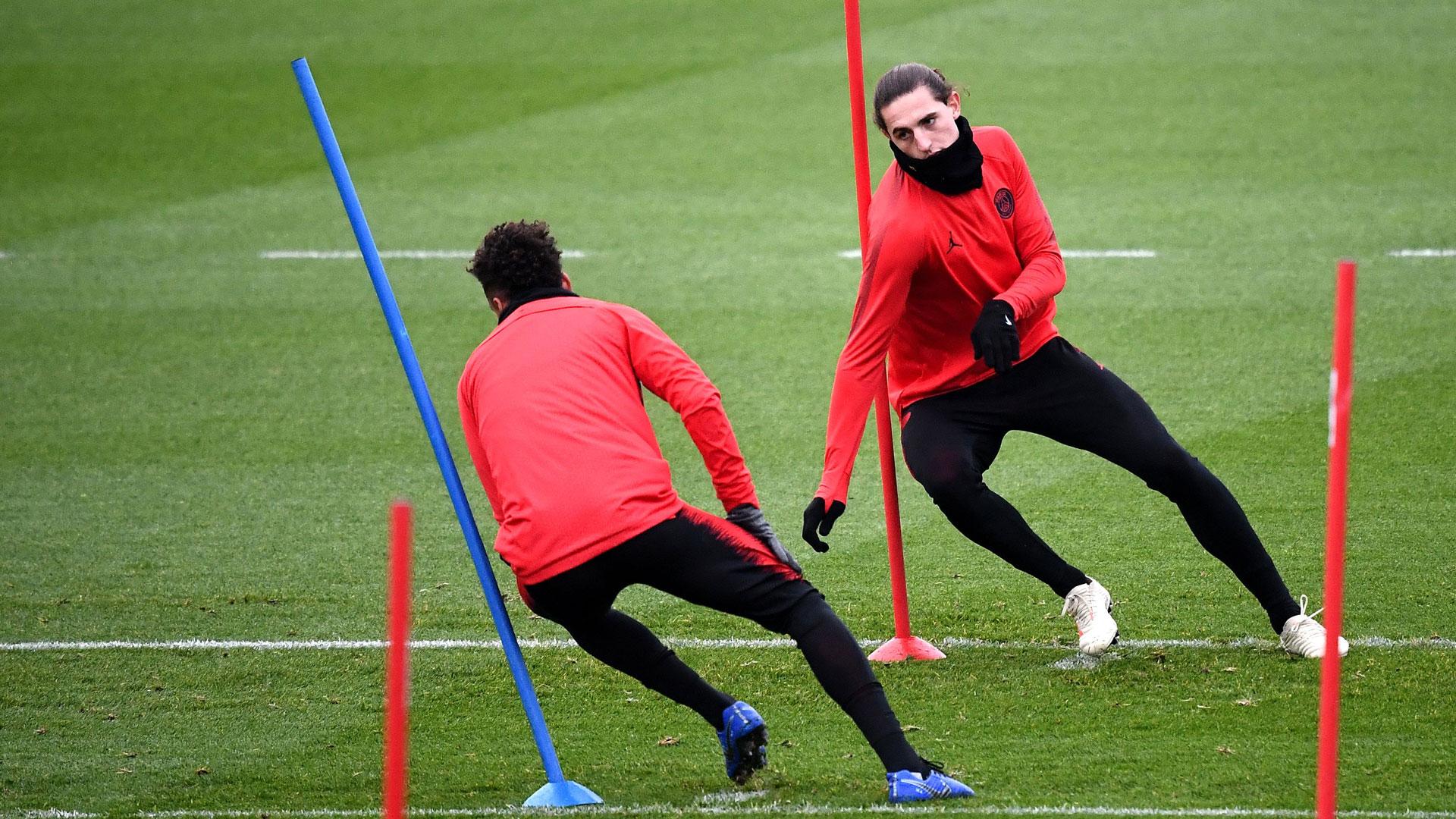 Adrien Rabiot PSG Training Paris St. Germain 27112018