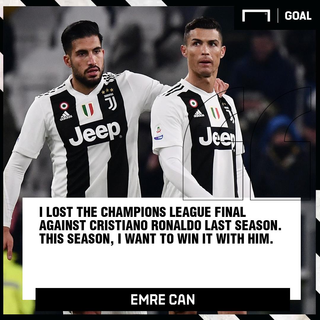 Emre Can Ronaldo Juventus PS