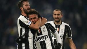Paulo Dybala Miralem Pjanic Juventus
