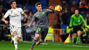 Aihen Munoz Lucas Vazquez Real Madrid Real Sociedad LaLiga 06012019