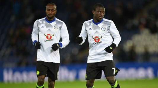 Victor Moses and Ngolo Kante