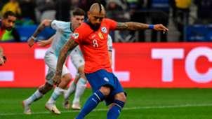 Arturo Vidal - Argentina Chile penalty