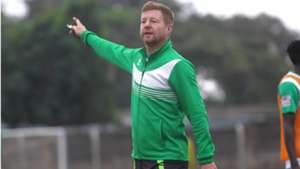 Gor Mahia coach Dylan Kerr.