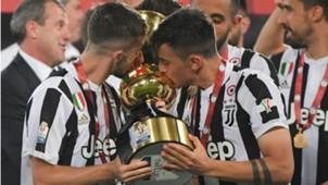Miralem Pjanic Paulo Dybala Juventus Coppa Italia 2018