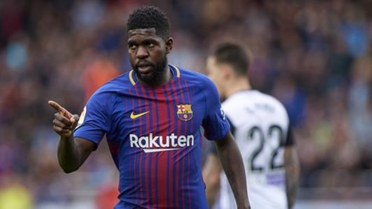 Fc Barcelona Samuel Umtiti Verlängert Vertrag Bis 2023 Goalcom
