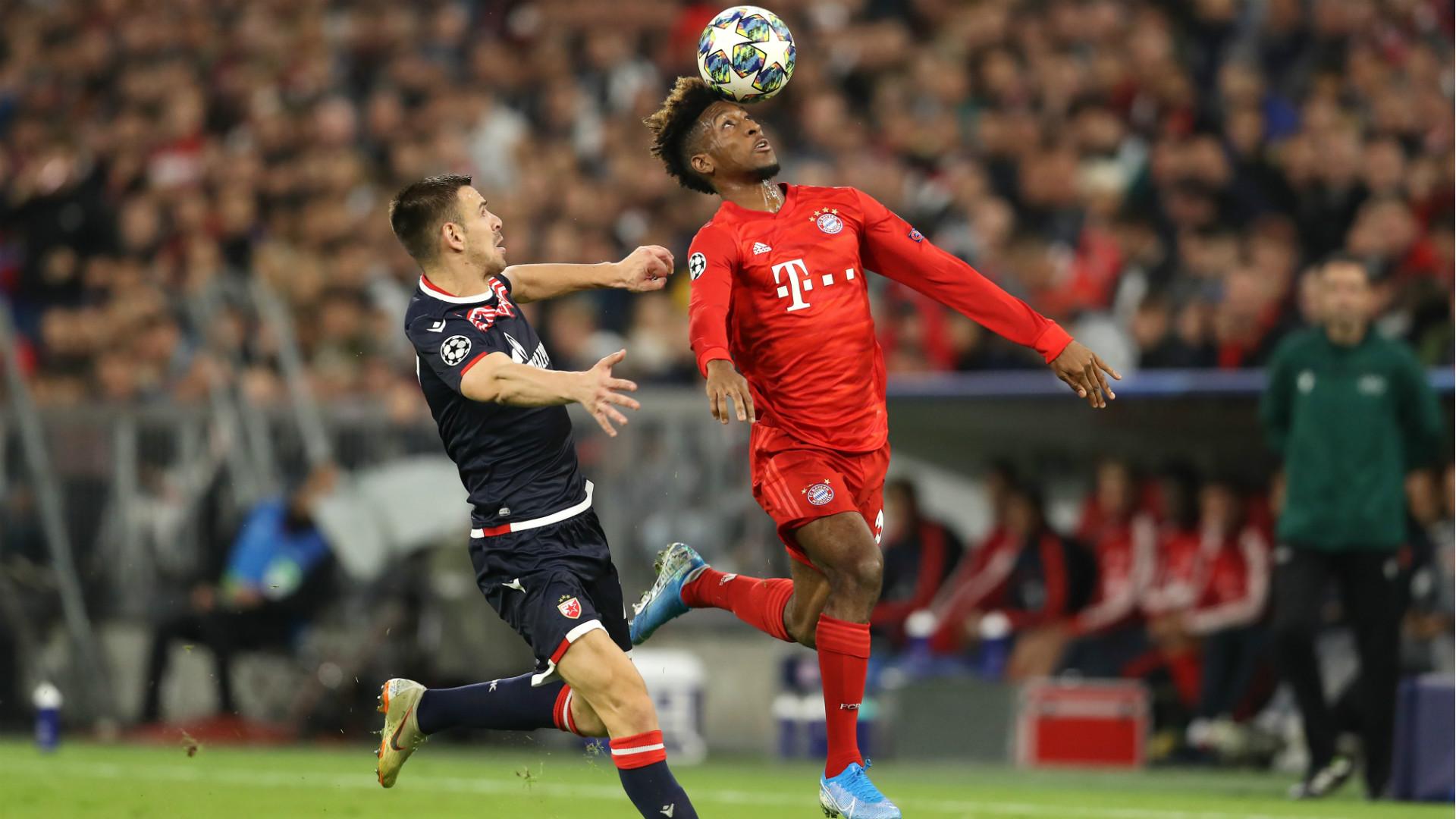 Kingsley Coman Bayern Munchen Crvena Zvezda Champions League 18092019