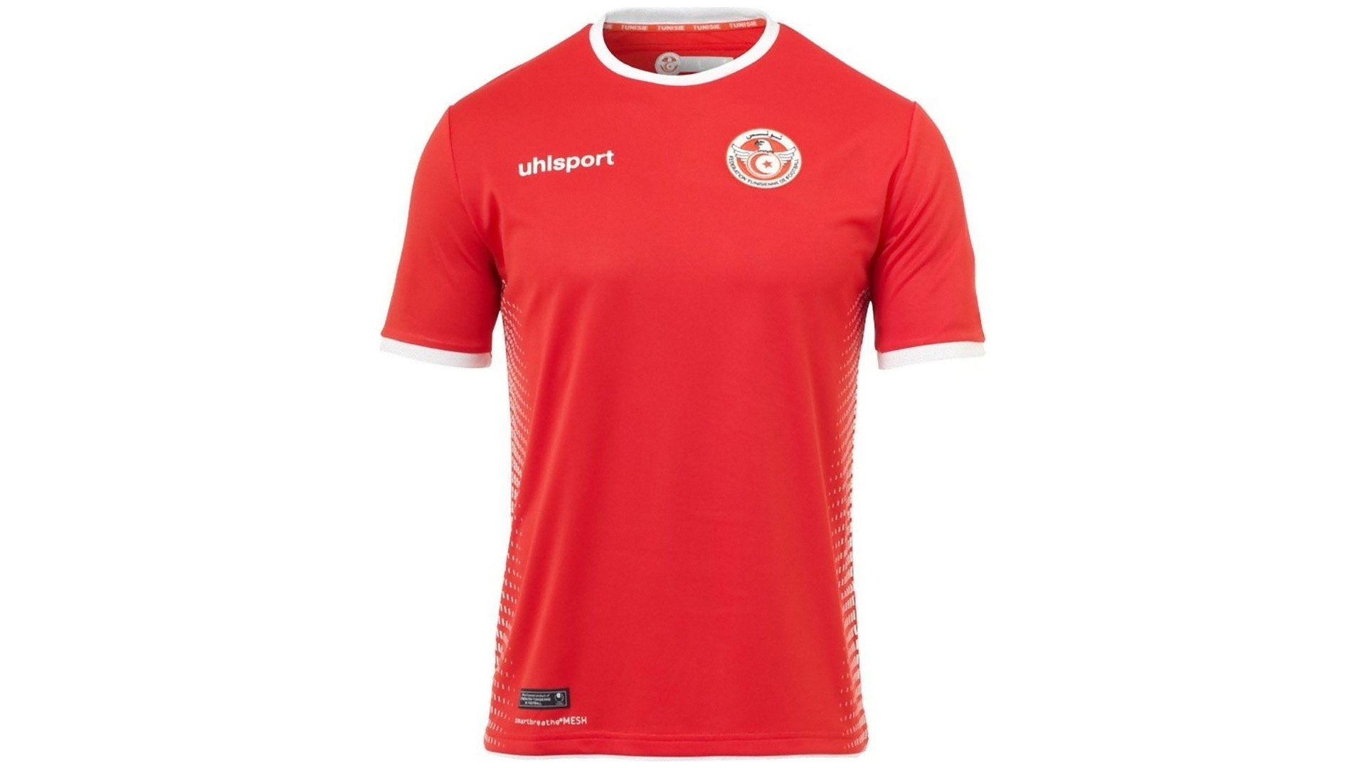 e5edb9201 Tunez Camiseta Alternativa 2018 Tunisia Away Kit