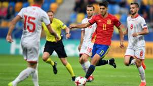 Marco Asensio Spain Macedonia Under-21