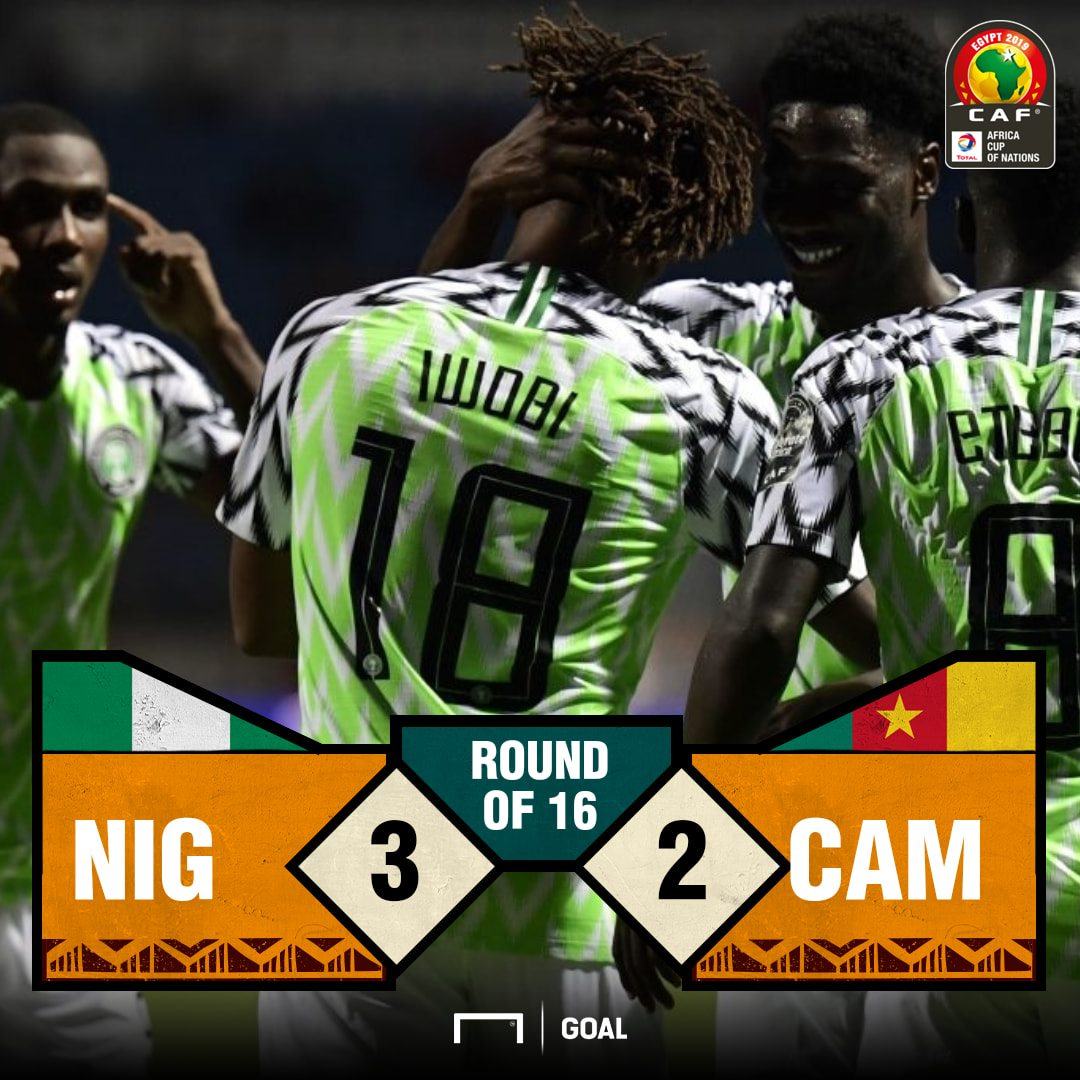 Nigeria Cameroon score PS