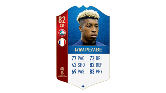 FIFA 18 World Cup France Kimpembe