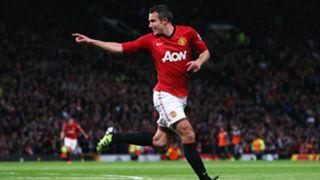 Robin van Persie Manchester United 2013