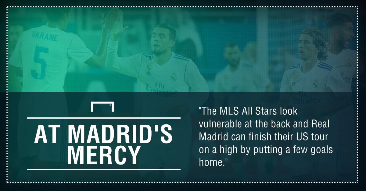 GFX MLS All Stars Real Madrid betting