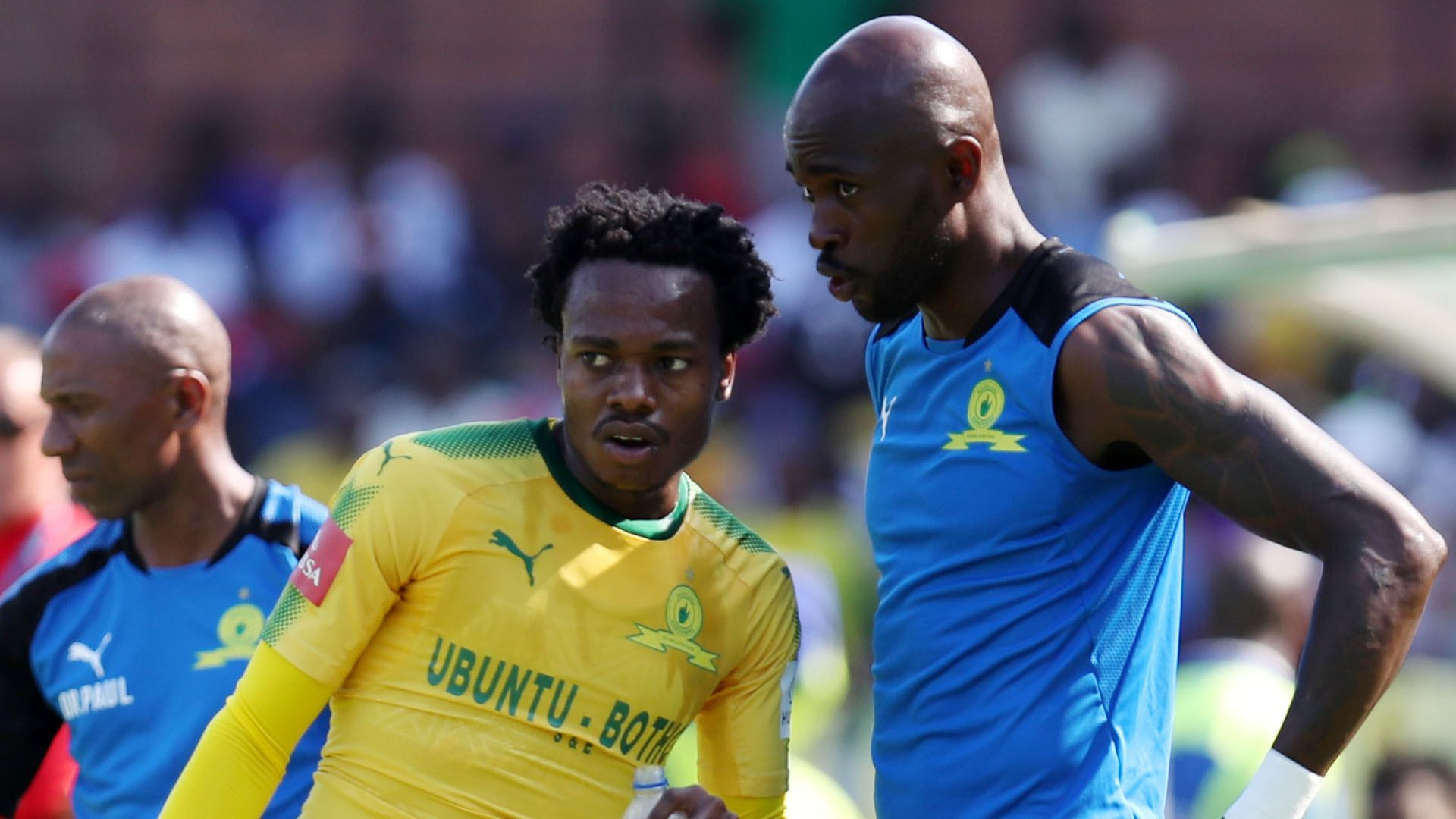Percy Tau & Anthony Laffor, Mamelodi Sundowns
