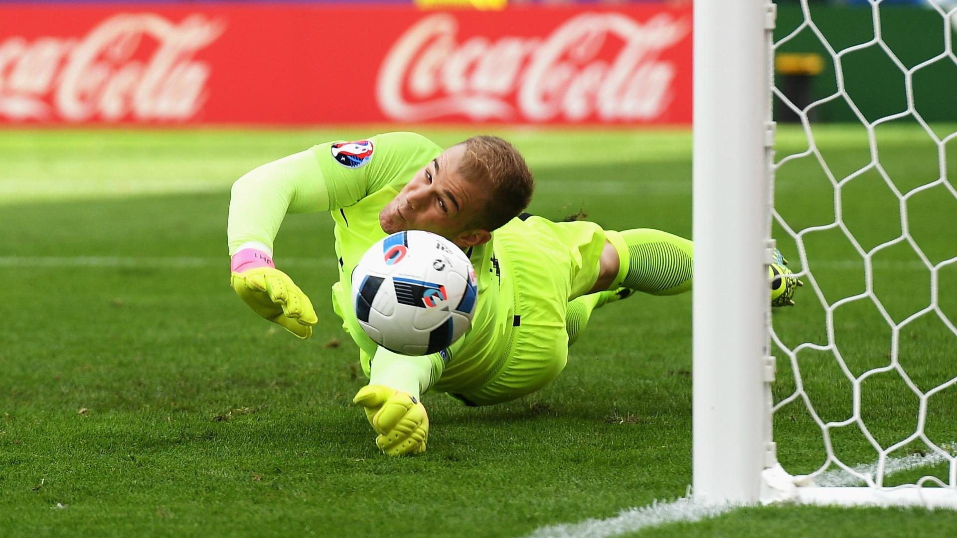 HD Joe Hart England Wales Euro 2016