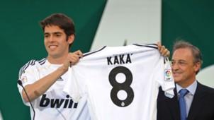 Kaka Florentino Perez Real Madrid