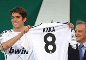 4. KAKA | Vom AC Mailand zu Real Madrid (2009/10) | Ablösesumme: 65 Millionen Euro