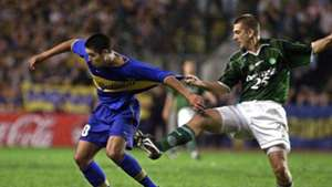 Riquelme Galeano Boca Palmeiras Final Copa Libertadores 2000
