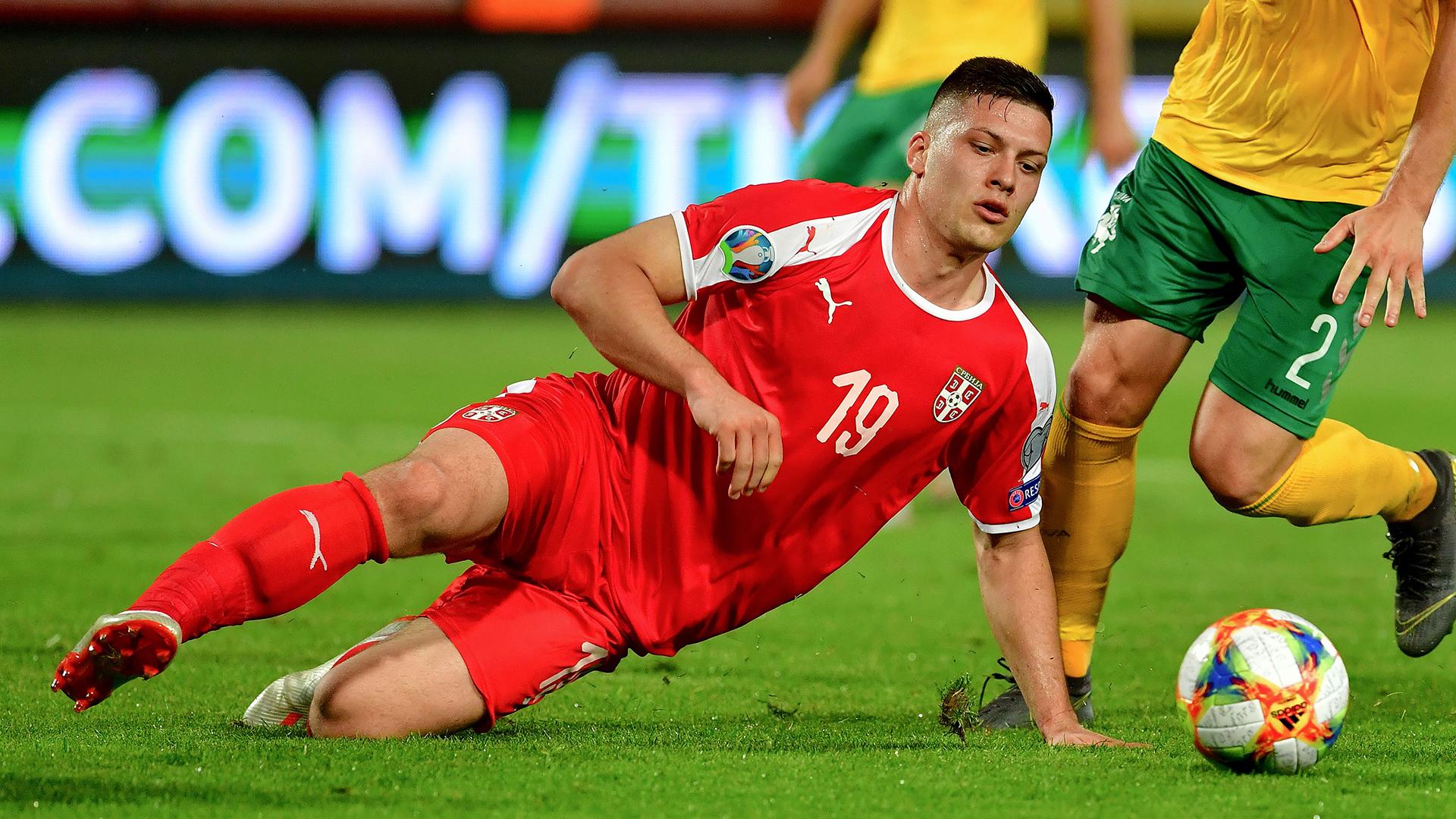 Luka Jovic Serbia