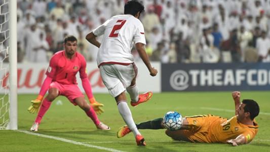 Mat Ryan Ryan McGowan United Arab Emirates v Australia World Cup qualifying 06092016
