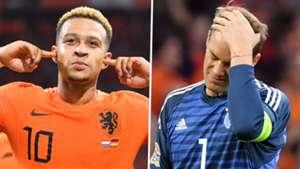 Memphis Depay Manuel Neuer Netherlands Germany