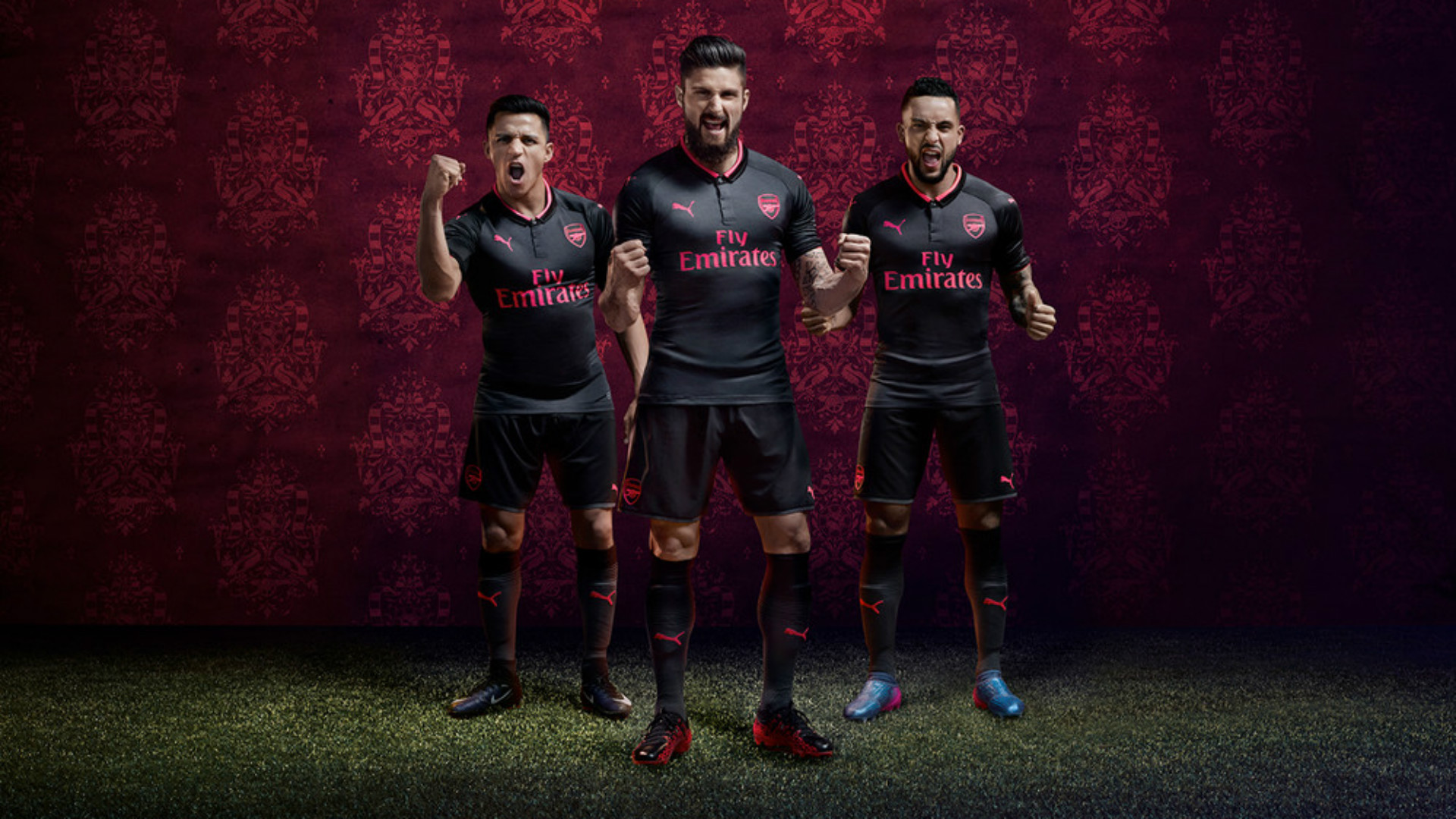 a7615cba8dd Arsenal News: Gunners unveil new black and pink third kit | Sporting News