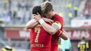 Alireza Jahanbakhsh, Wout Weghorst, AZ, Eredivisie 04182018