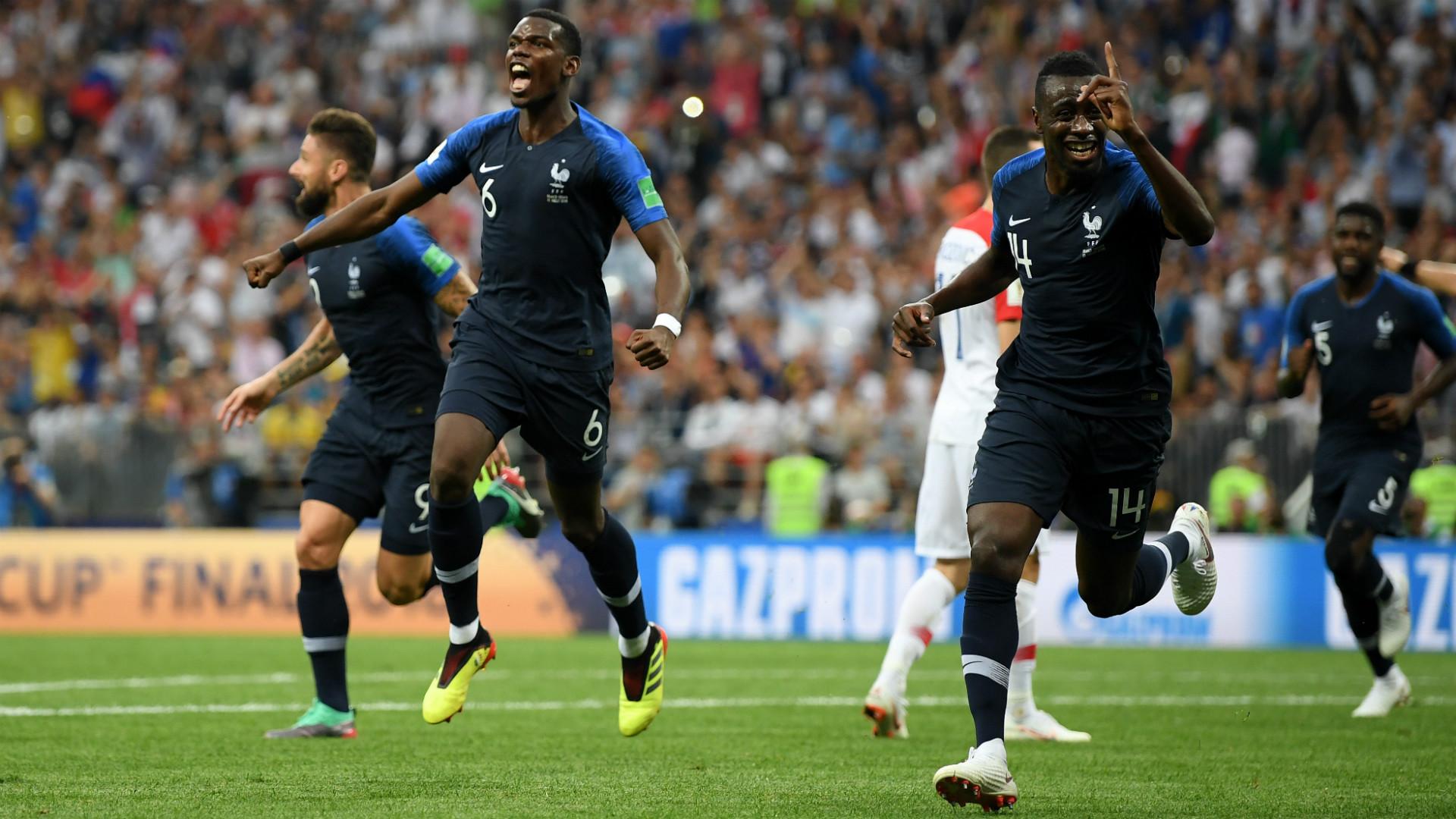 Paul Pogba France 15072018