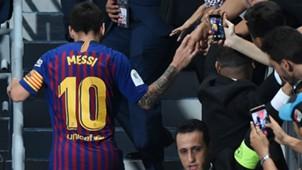 Lionel Messi Barcelona Supercopa España 12082018