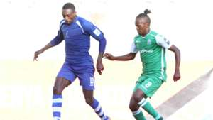 Francis Kahata of Gor Mahia v New Star of Cameroon.