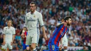 Gareth Bale Lionel Messi Real Madrid Barcelona LaLiga 23042017