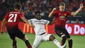 Ander Herrera Scott McTominay Franck Kessie Manchester United A.C. Milan