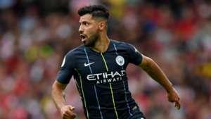Sergio Aguero Man City 12082018