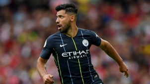 Sergio Aguero Man City 12082018