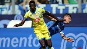 Mamadou Coulibaly Empoli Pescara Serie A 08042017