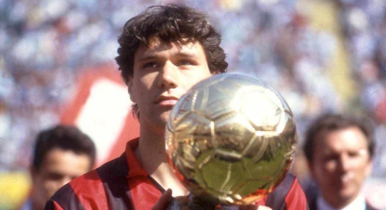 Marco Van Basten Milan Ballon D'or