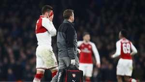 Olivier Giroud Arsenal West Ham League Cup
