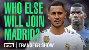 Real Madrid transfer show Eden Hazard