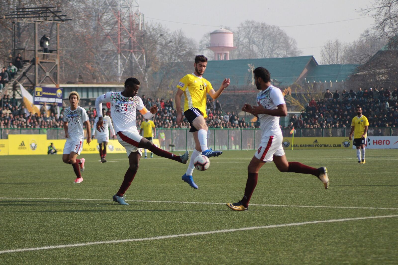 Danish farooq Eze Kingsley Mohun Bagan vs Real Kashmir