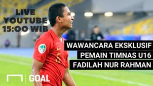 LIVE YouTube Fadillah Nur Rahman