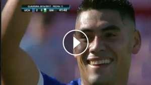 Gol Felipe Mora Universidad Chile Wanderers 220417