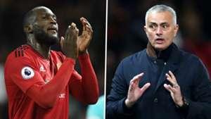 Romelu Lukaku Jose Mourinho Man Utd 2018