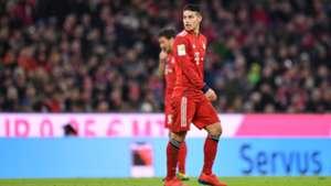 James Rodriguez Bayern Schalke 0219