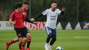 Lionel Messi Argentina Newells Amistoso 01062019